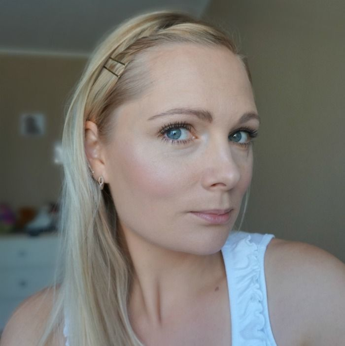 natural daytime makeup look