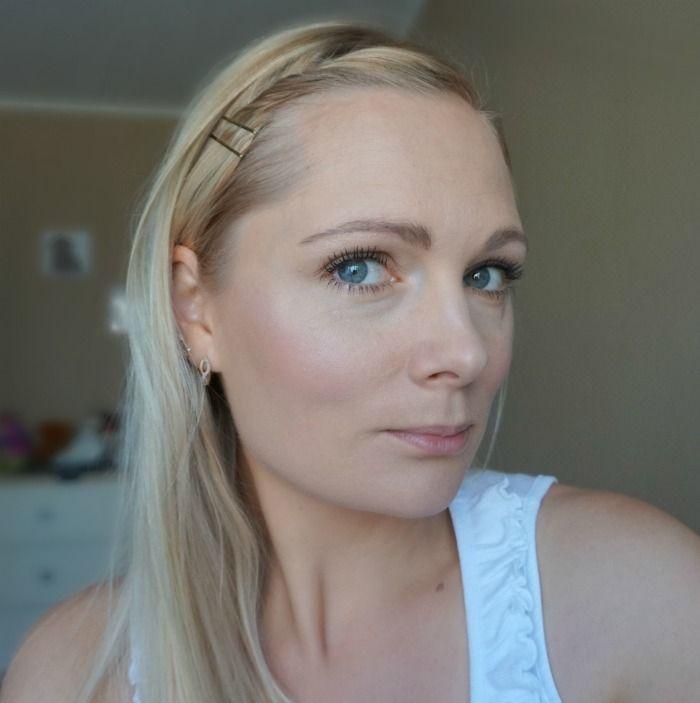 natural daytime makeup look