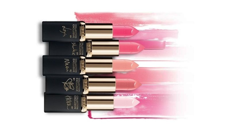 L'Oreal Paris Exclusive Pink collection