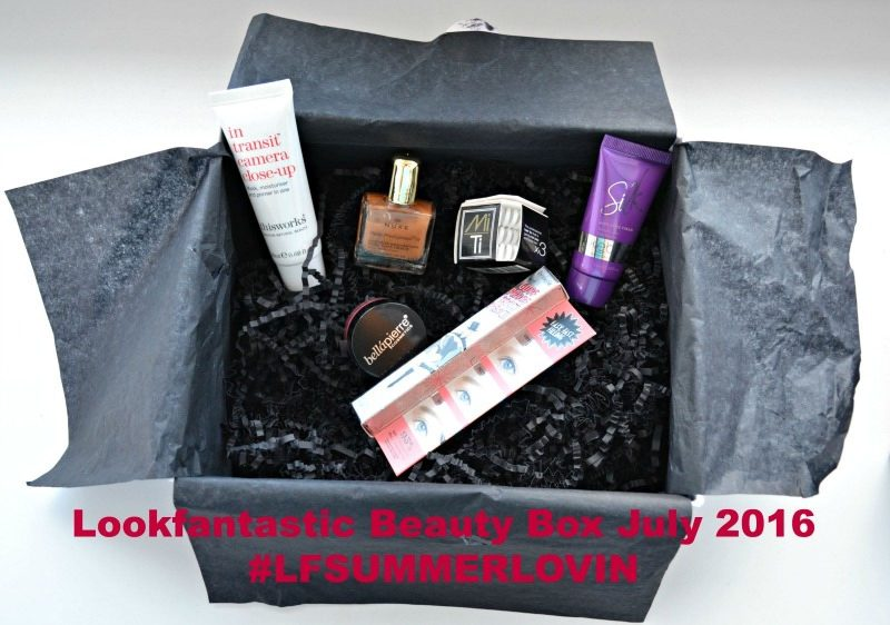 Lookfantastic Beauty Box July 2016
