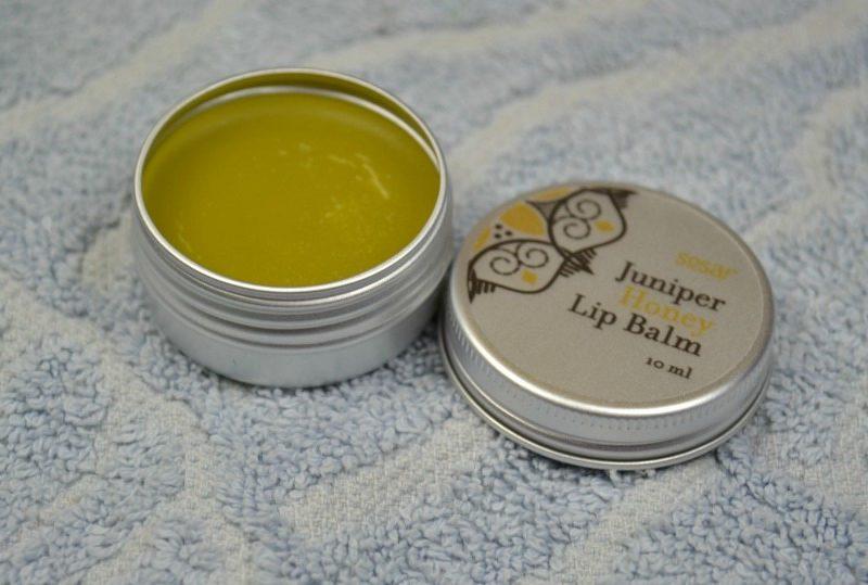 Sosar Juniper Honey Lip Balm