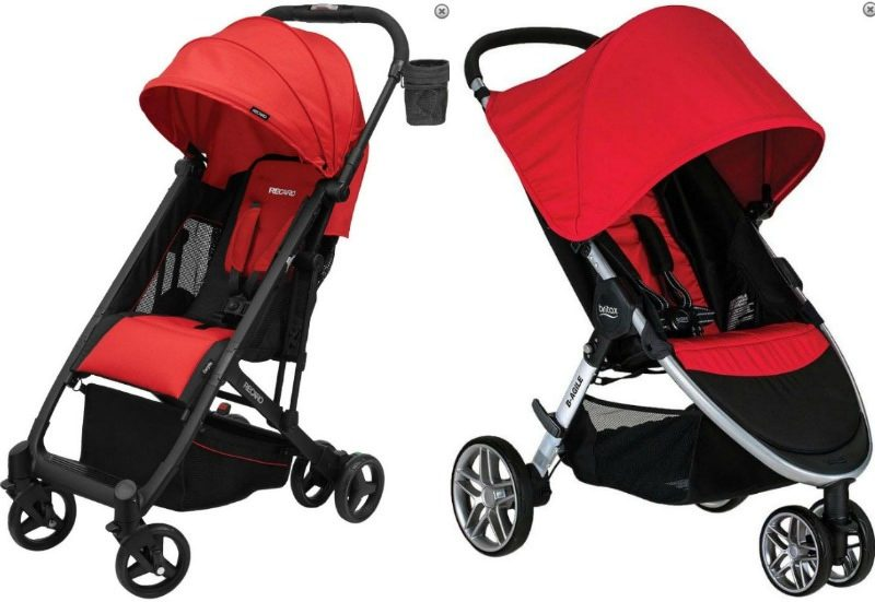RECARO Easylife Ultra-Lightweight Britax B-Agile 3 Stroller Stroller