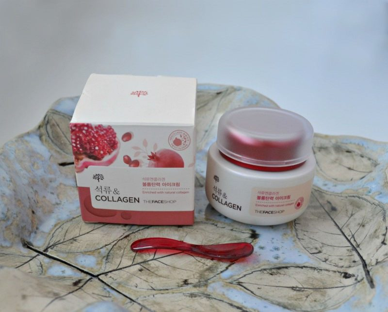 The Face Shop Pomegranate and Collagen Volume Lifting Eye Cream