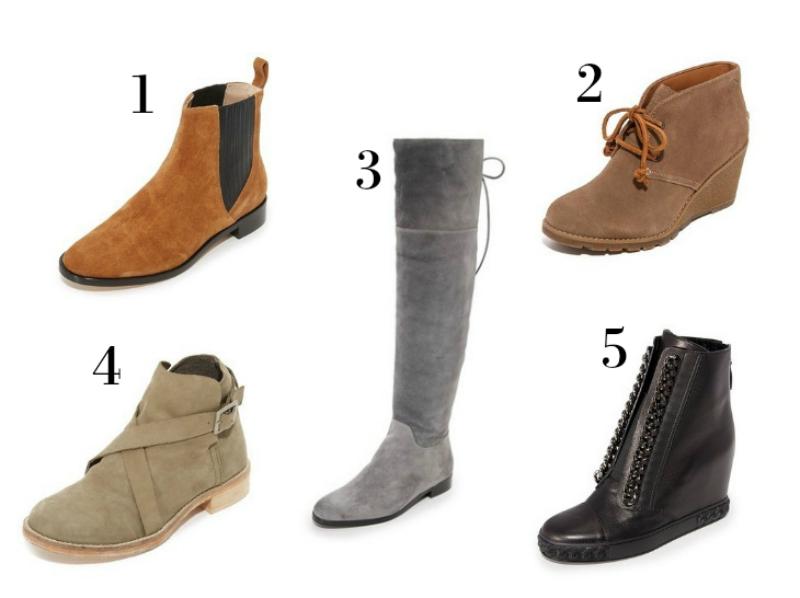 my fall wish list - footwear