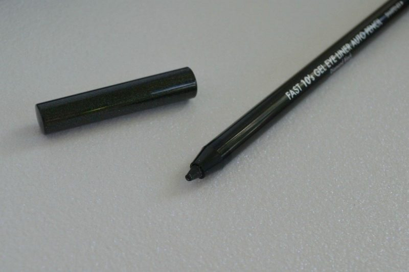 Beauty People Fast 10s Gel Eye Liner Auto Pencil in Diamond Black review and swatches