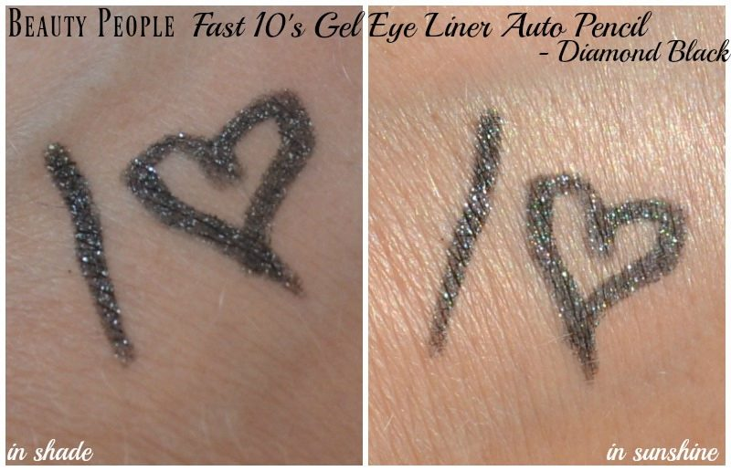 Beauty People Fast 10s Gel Eye Liner Auto Pencil in Diamond Black swatches
