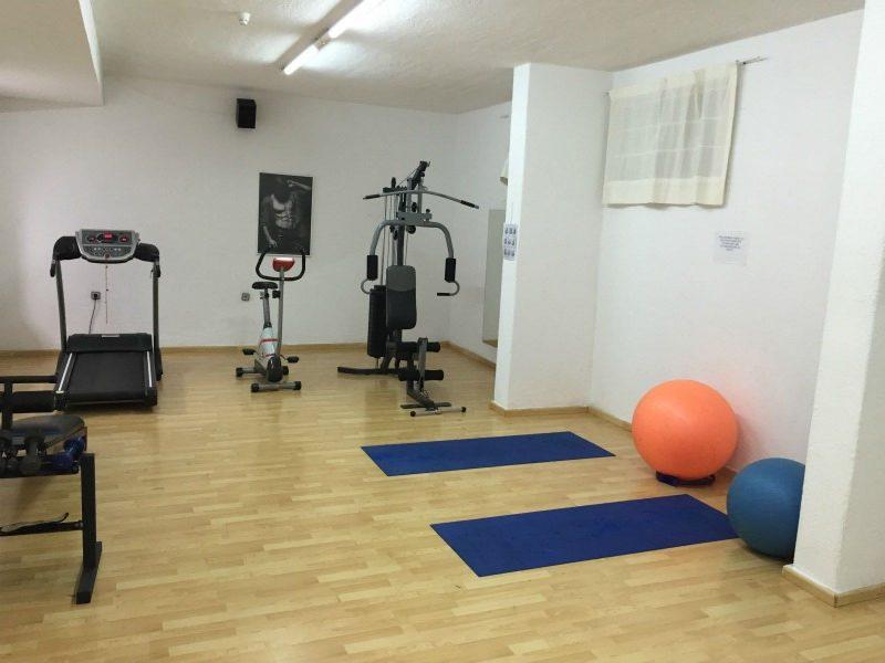 Hersonissos Palace Hotel gym
