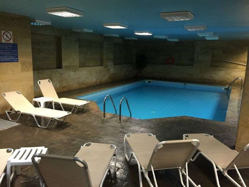 Hersonissos Palace Hotel indoor swimming pool