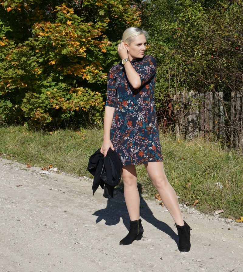 perfect fall dress from lindex
