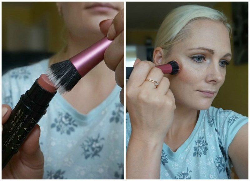 how to use Avon Cream Blush and Highlighter Duo