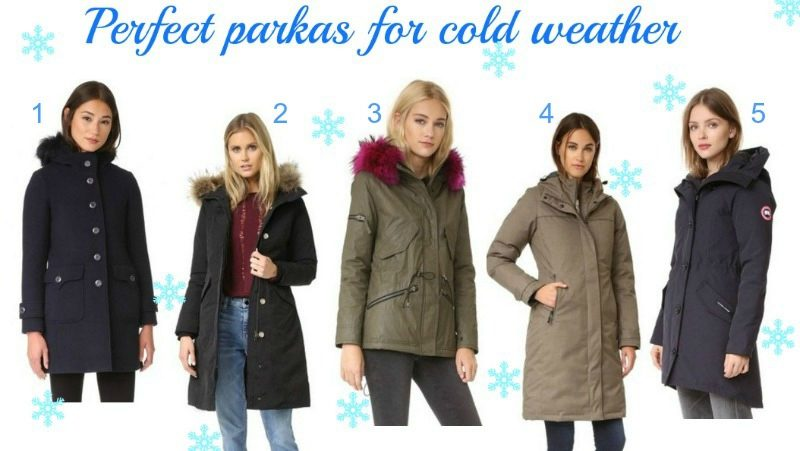 perfect parkas for cold weather