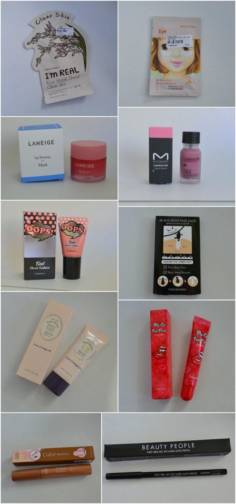 YesStyle Korean Beauty Sample Box