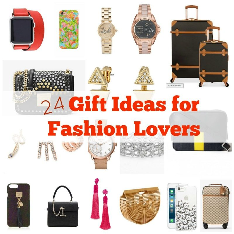24 Gift Ideas for Fashion Lovers
