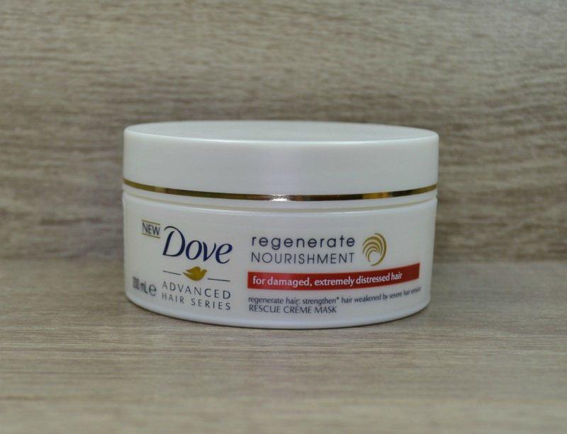 Dove Regenerate Nourishment Rescue Creme Mask