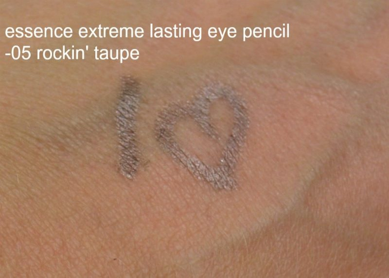 Essence Extreme Lasting Eye Pencil 05 rockin taupe swatch