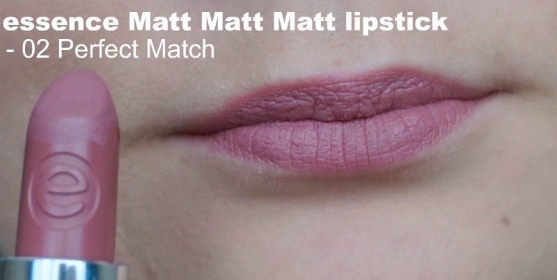 Essence Matt Matt Matt lipstick 02 Perfect Match