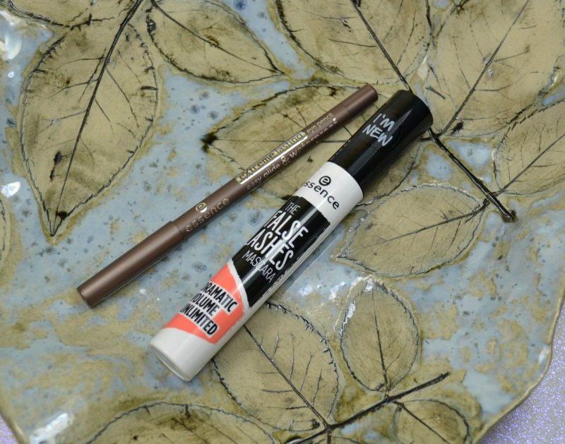 Essence The False Lashes Mascara & Extreme Lasting Eye Pencil review