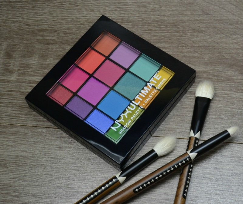 NYX Ultimate Shadow Palette – Brights review and swatches