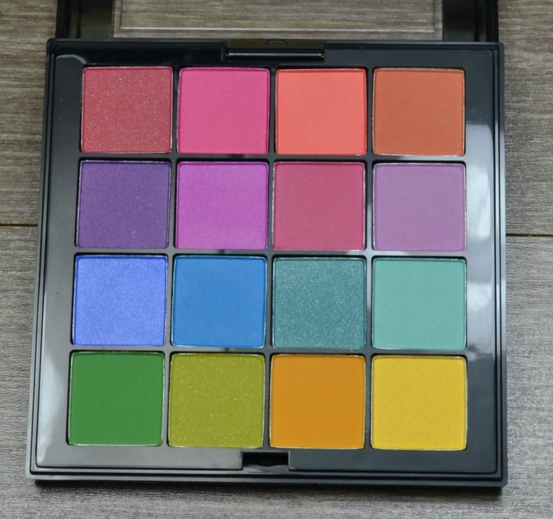 NYX Ultimate Shadow Palette – Brights