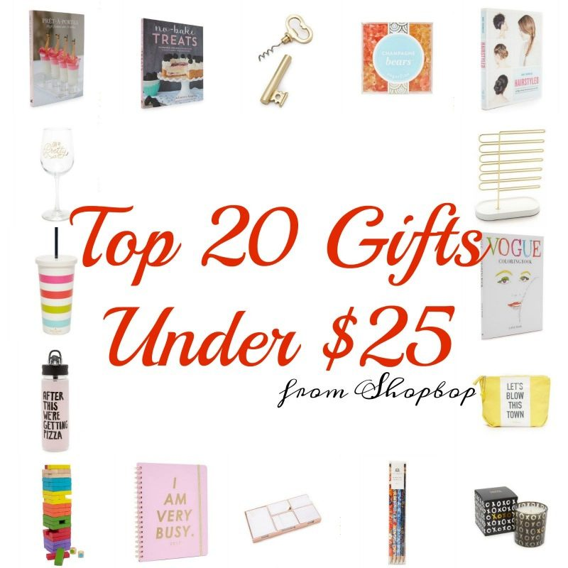 Top 20 Gifts Under 25$