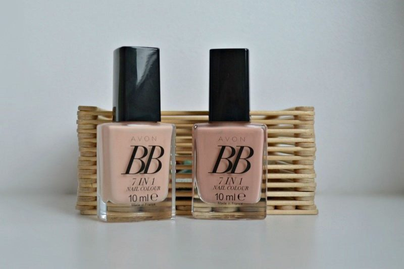 Avon BB 7-in-1 Nail Colour Caring Créme & Restoring Beige swatches & review