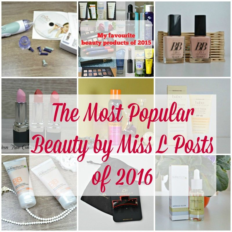 The Most Popular Beauty by Miss L Posts of 2016