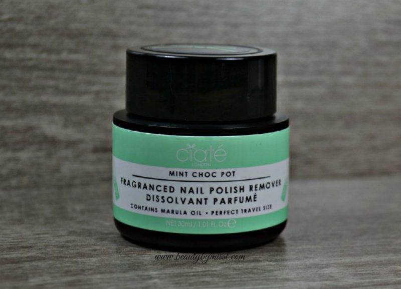 Ciaté Mint Choc Pot Fragranced Nail Polish Remover
