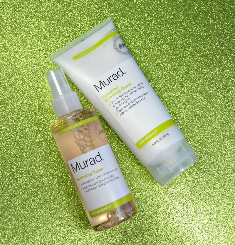 Murad Resurgence Renewing Cleansing Cream and Hydrating Toner
