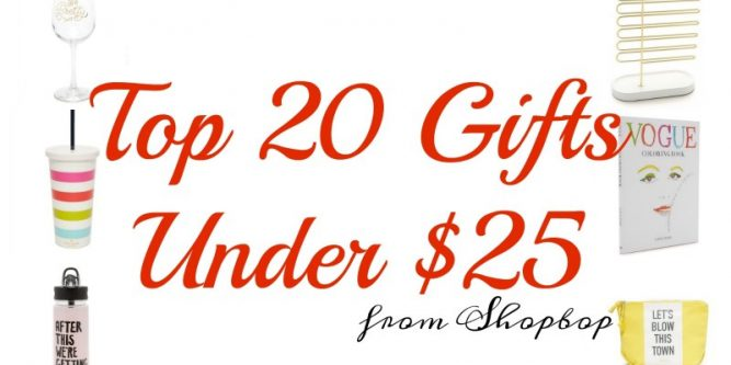 Top 20 Gifts Under 25