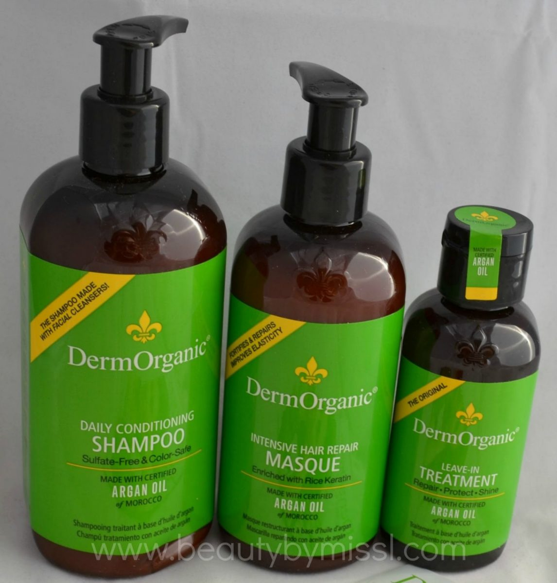 DermOrganic hair care products
