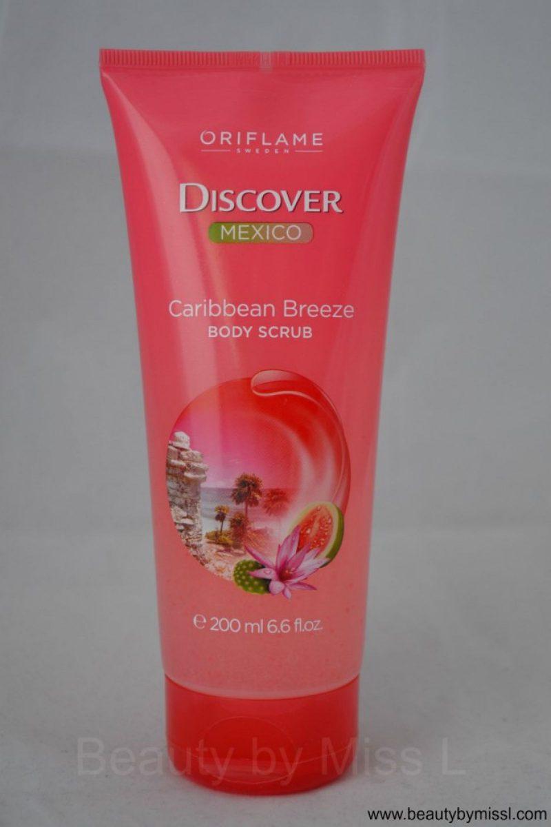 Oriflame Discover Mexico Caribbean Breeze Body Scrub