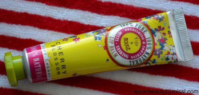 Fig & Rouge Cherry Blossom Lip Balm (2)