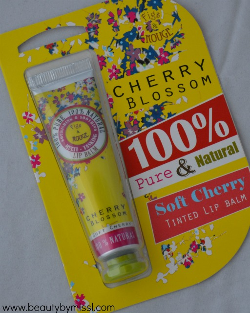 Fig & Rouge Cherry Blossom Lip Balm review