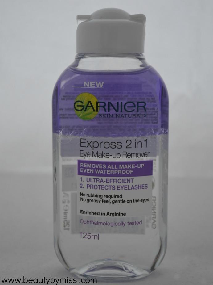 Garnier Express 2in1 Eye Makeup Remover