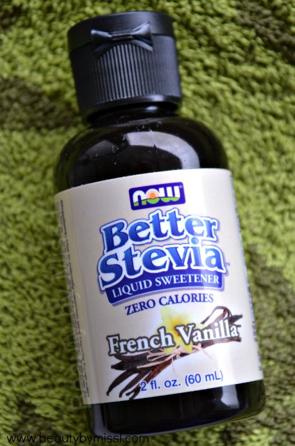 Now Foods Better Stevia Liquid Sweetener French Vanilla review