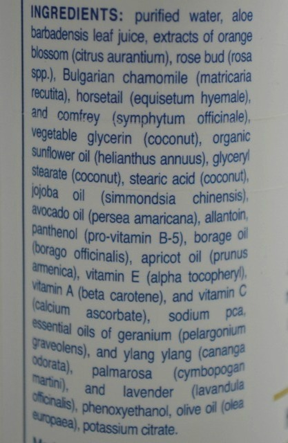 Abra Therapeutics Hydrating Cleanser ingredients