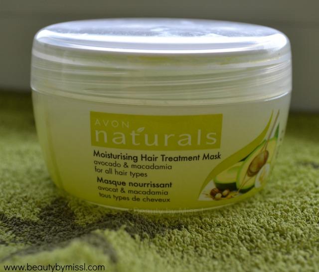Avon Naturals Moisturising Hair Treatment Mask with Avocado & Macadamia hair mask