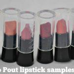 Avon Plump Pout lipstick samples