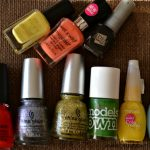 China Glaze, Maybelline, Models Own, Aden Cosmetics, Barry M, Wet n Wild