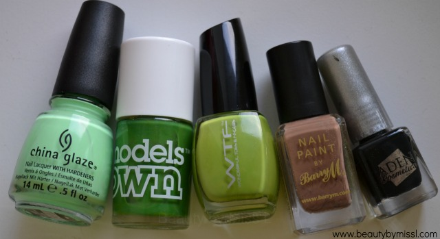 nail polishes used for camouflage nail art