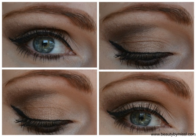 brown smoky eye look with UD Naked 2