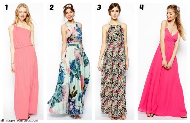 summer wishlist: maxi dresses