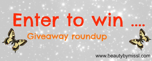 giveaway roundup