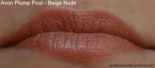 Avon Plump Pout lipstick Beige Nude