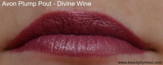 Avon Plump Pout Divine Wine