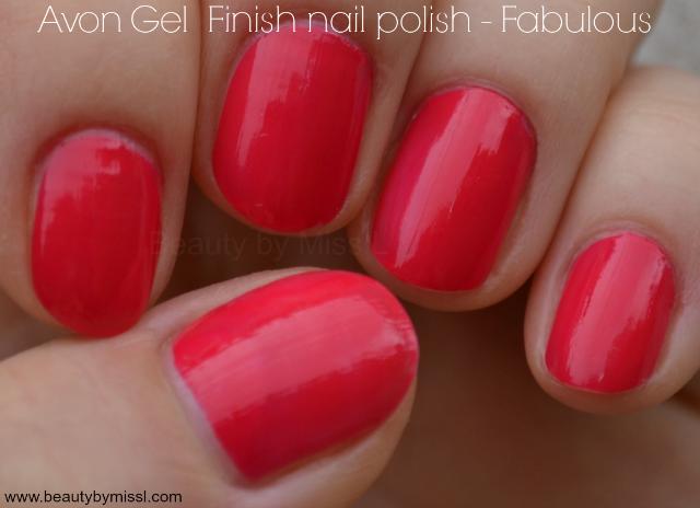 Avon Gel Finish nail polish Fabulous swatches