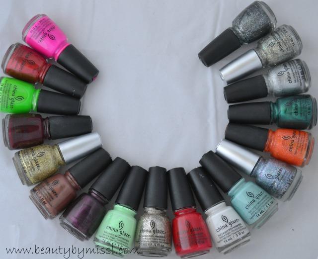 4 or more tag: china glaze nail polishes