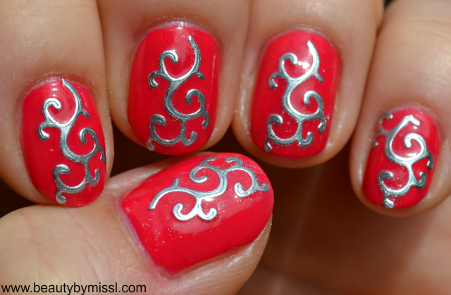 3D nail art stickers