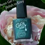Avon Gel Finish nail polish in Envy