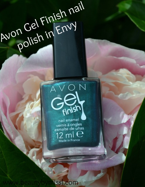 Avon Gel Finish nail polish in Envy